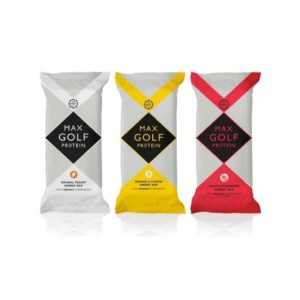 max golf protein bars by live golf
